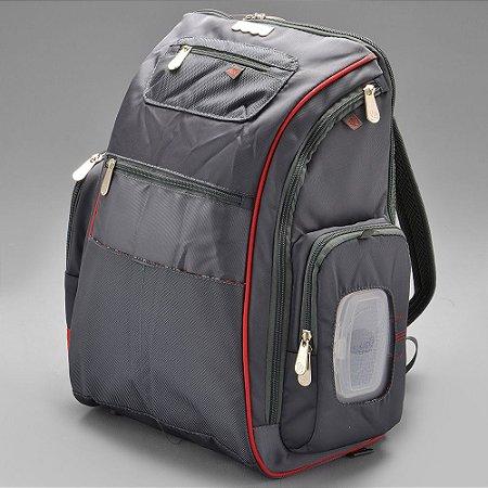 Mochila Baby Bag Grande com Trocador Sport Backpack - 01177 - Fisher Price