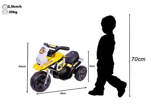 Triciclo Elétrico G204 Infantil - Amarela 6512