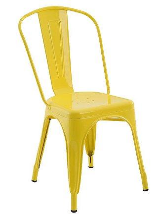 Cadeira Iron Tolix Amarela