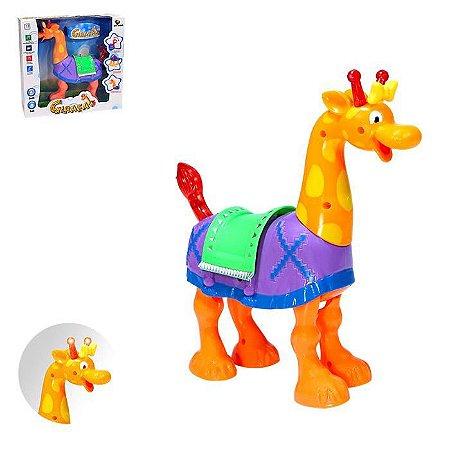 Girafa Art Brink Com Luz Som E Movimento