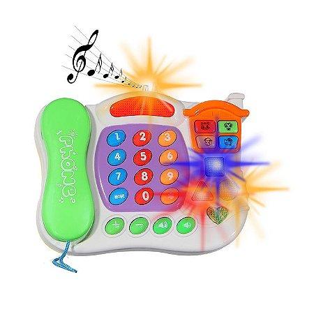 Telefone Musical Infantil Matemática E Musicas Em Ingles
