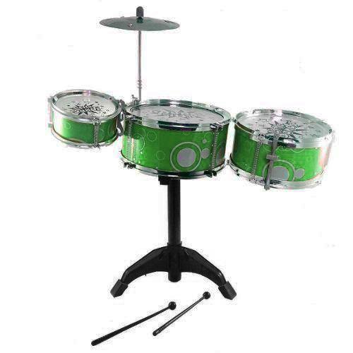 Bateria Infantil Rock Star (Verde)