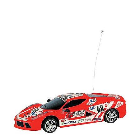Carro Controle Remoto linha GP Interlagos Vermelho