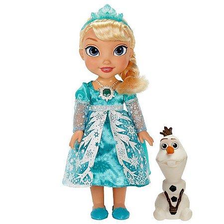 Disney Frozen Elsa Neve Brilhante De Luxo - Sunny