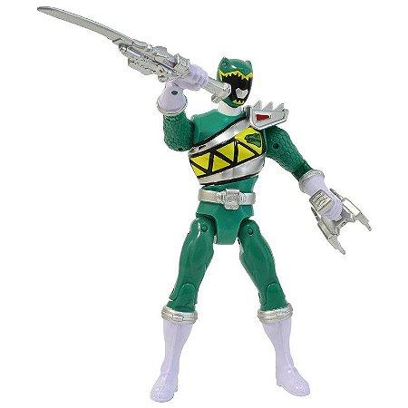 Boneco Power Ranger Dino Charger Spinning Action Ranger Verde