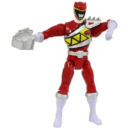Boneco Power Ranger Dino Charger Spinning Action Ranger Vermelho