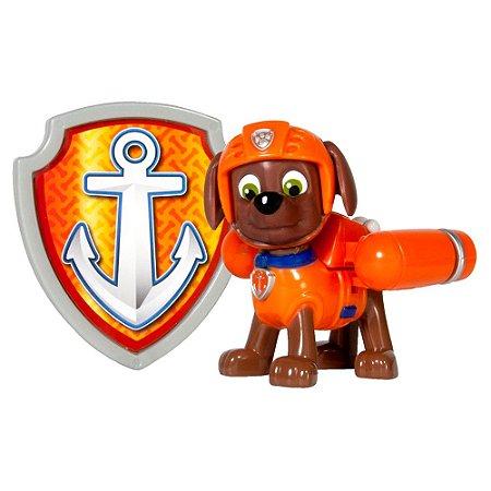 Boneco Com Distintivo Patrulha Canina Zuma Sunny