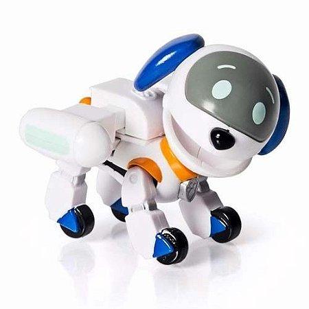 Boneco Patrulha Canina Robo Dog Com Distintivo Sunny