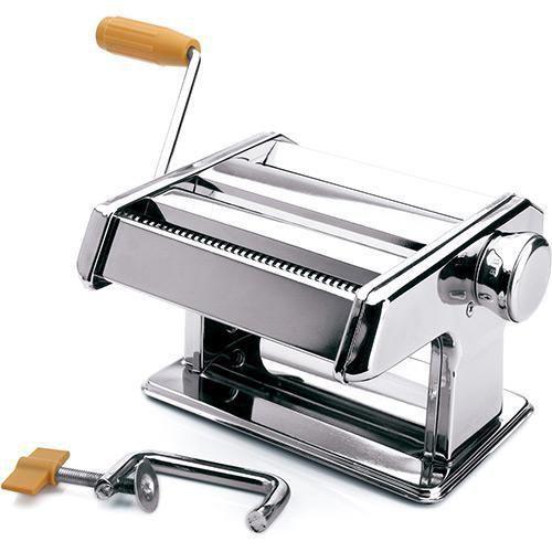 Máquina De Macarrão E Massas Mimo Aço Inox AQ01