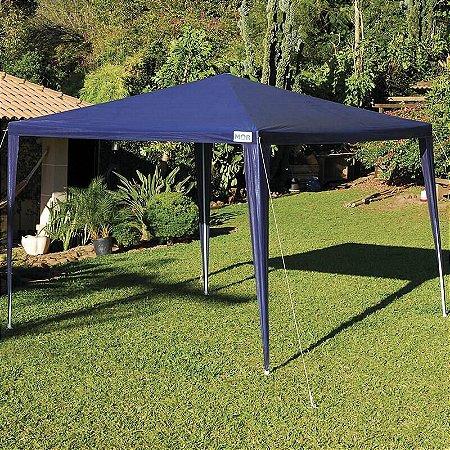 Gazebo Rafia Azul 3x3m