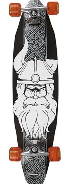 Skate Long-Board 97 cm x 20cm VIKING MOR