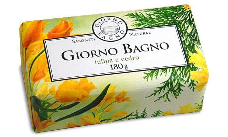 Sabonete em barra - Giorno Tulipa e Cedro - 180g