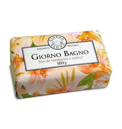 Sabonete em barra - Giorno Flor de Laranjeira e Vetiver - 180g