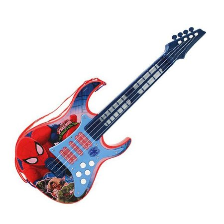 Guitarra Musical Infantil Homem Aranha 30502