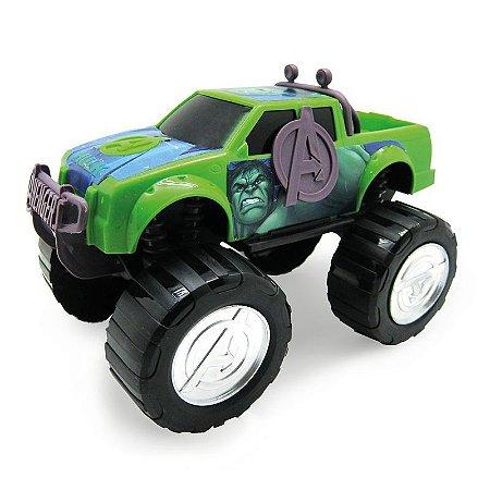Carro Vingadores Hulk Roda Livre Toyng 28258