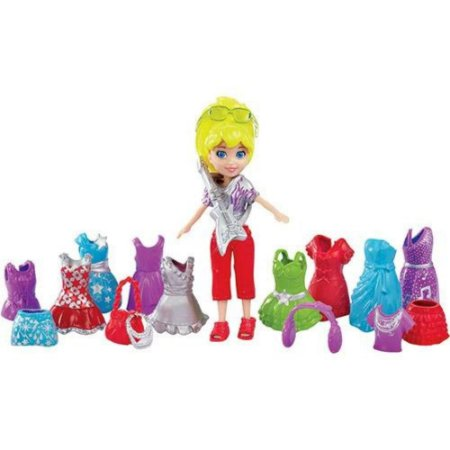 Polly Pocket Looks Especiais Vestidos Show de Rock BHX01/BHX02