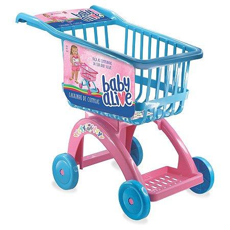 Carrinho de compras Baby Alive (2443)