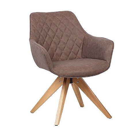 Cadeira Cintia Café