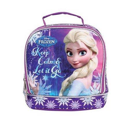 Lancheira Térmica Disney Frozen 37105 Roxo