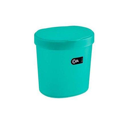 Lixeira para pia 2,5 Litros  Verde  Coza 10906/0129