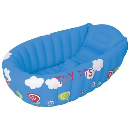 Banheira Bebê Inflável Azul 1793