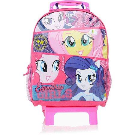 Mochila de Rodinhas Mochilete Escolar Grande Hasbro Equestria Girls (48711)