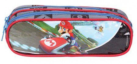 Estojo Soft 2 Div Dmw Mario Kart 49069