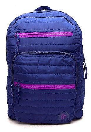 Mochila G Dmw Azul Escuro Capricho Puff 48945