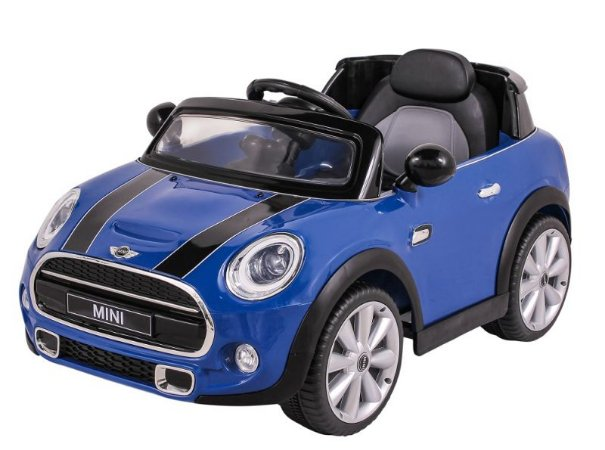 Carro Elétrico Mini Cooper R/C - Azul - 12V 926600