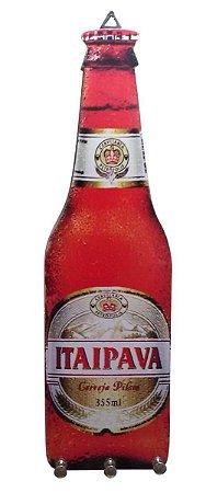 Porta Chaves Formato de Garrafa Itaipava Cerveja Pilsen