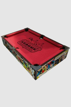 Jogo Mesa de Sinuca Authentic DC Comics