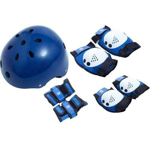 Kit Proteção Radical Capacete Azul M