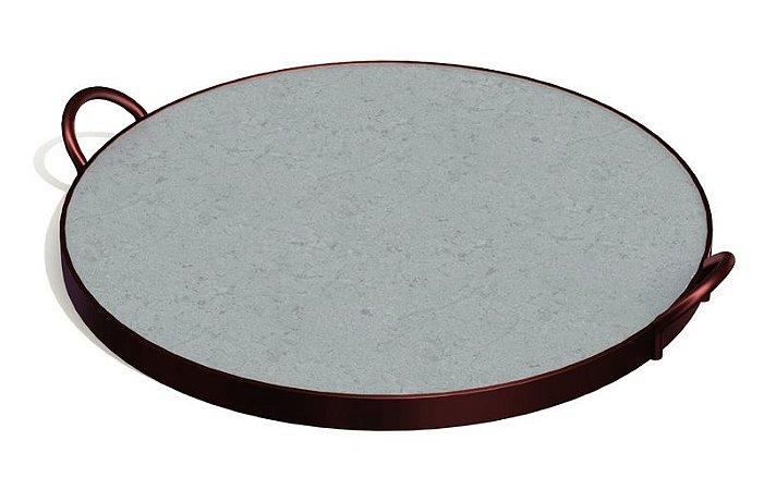 Assadeira de Pedra Sabão 38 cm Tramontina