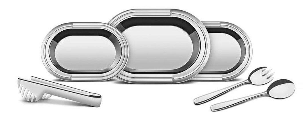Kit para Servir - Aço Inox 6 peças - Tramontina