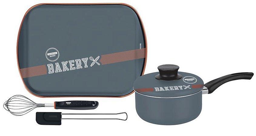 Kit para bolo e cobertura Bakery 4 peças - 27899/062
