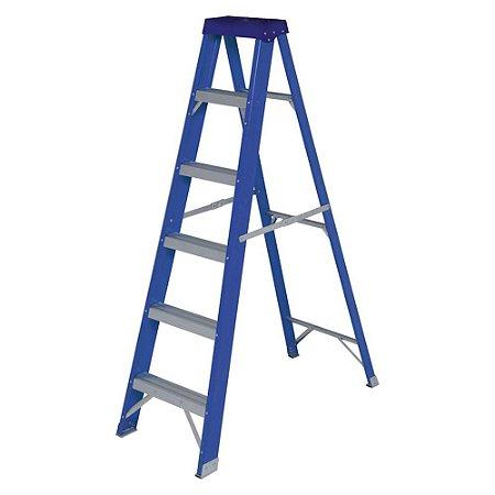 Escada Fibra de Vidro Dupla 5182
