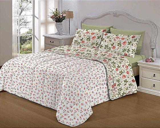 Kit Enxoval Cama Bed In A Bag (Imp) Queen 7 Pçs Giardino