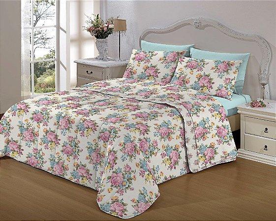 Kit Enxoval  Bed In A Bag (Imp) Casal 7pçs Aurea