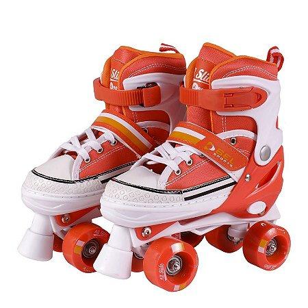 Patins Roller All Slide Classic Laranja G (37-40) 378600