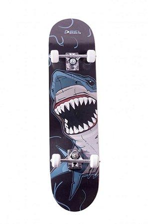 Skateboard Iniciante PU Shark (Tubarão)