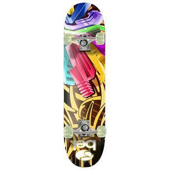 Skateboard Semi-Pro Rodas PU 402000 Grafite