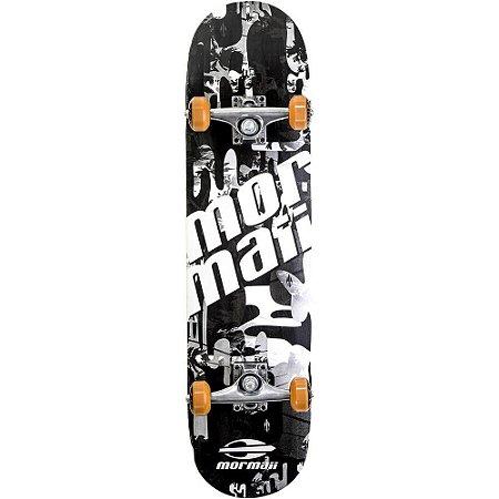 Skateboard Mormaii Chill Preto e Branco
