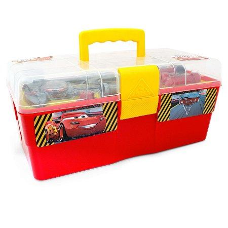 Maletinha de Ferramentas Carros 6 peças - Disney  Toyng 30095