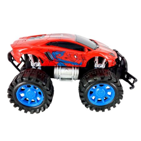 Carro Fricção Spider-Man Marvel - Toyng 32559