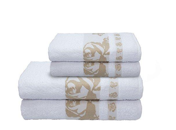 Toalha Gala de Banho 70X140 Branco R0001