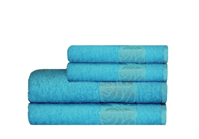 Toalha Donna de Banho 70X130 Azul Claro - Camesa