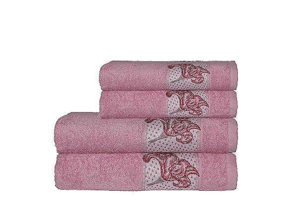 Toalha Naturae de Banho 70X140 Rose