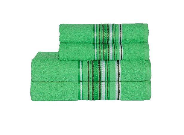 Toalha Vegas Color de Rosto 45X70 Verde