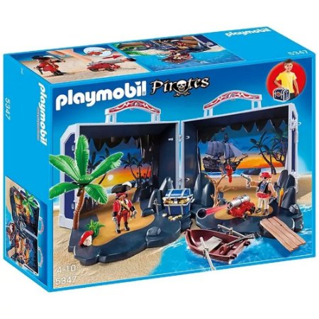 Bau Do Tesouro Dos Piratas 1041 Playmobil