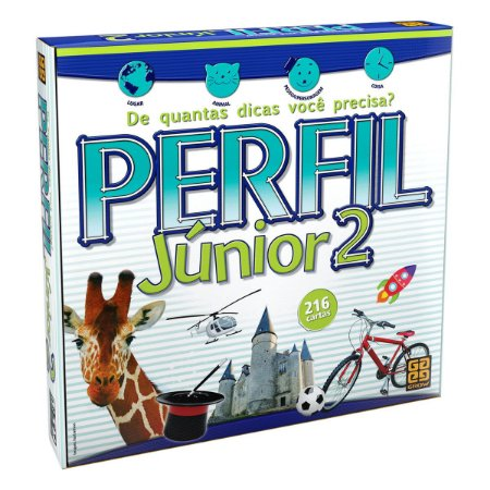 Jogo Infantil Tabuleiro Perfil Junior 2 Grow - 1979